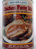 CEDAR LAKE DRY Chicken Patty Mix 4.5 oz
