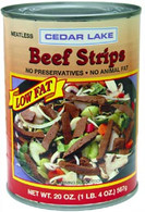 CEDAR LAKE Beef Strips 20 oz.