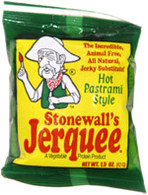 Stonewall's Jerquee Hot Pastrami 1.5 oz single pckt