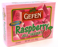GEFEN RASPBERRY JELLO, 3 oz. PK