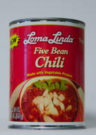 LOMA LINDA FIVE BEAN CHILI 20 oz