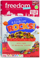 FREEDOM FOODS - FRUITY RAINBOW ROCKS! (14.1 oz. box)