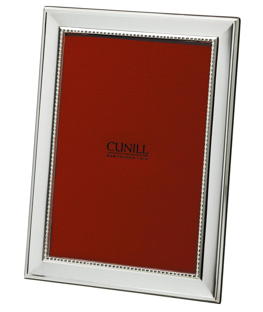 Cunill 925 sterling silver grooves 5x7 picture frame cunill america cunill 925 sterling silver grooves 5x7 picture frame jeuxipadfo Image collections