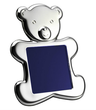 VINARD Sterling Silver Teddy Bear (silhouette) 4x4 Picture Frame ...