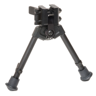 "300 Series Rubber Feet NON-Pan/Tilt 7""-9"" Bipod"