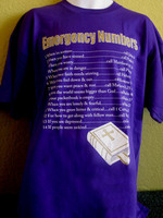 Emergency Numbers T-Shirt