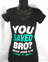 You Saved Bro V Neck