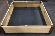 4' x 4' Raised Garden Bed