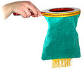 Green Change Bag (Euro) - Device for Magic Tricks
