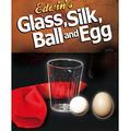Glass, Silk, Ball & Egg - Silk Magic Trick