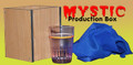Mystic Production Box with Glass - Device for Magic Tricks