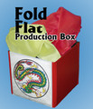 Fold Flat Prodution Box - Device for Magic Tricks