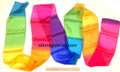 Multi-Color Silk Streamer for Magic Tricks - 6 In. by 13 Ft.