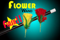 Flash Flower Wand Magic Trick
