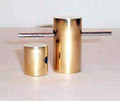 Cylinder Penetration - Brass