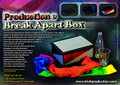 Production & Break Apart Box - Device for Magic Tricks