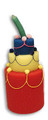Foam Birthday Cake - Chick Pan Size