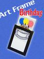 Birthday Art Frame Magic Trick