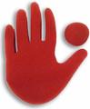 Big Red Hand Sponge Magic Trick by Goshman Magic