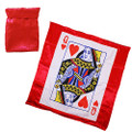 Bag to Queen Silk Magic Trick