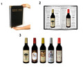 Appearing 5 Wine Bottles from Wine List by Tora Magic - Magic Wine List (with DVD)