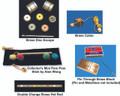 Set of 5 Mini Brass Magic Tricks