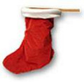 Christmas Stocking Change Bag  by Ickle Pickle