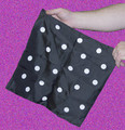 Polka Dot Hanky - Small - Silk Magic Trick