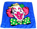 Duane Laflin Silk For Magic Tricks - Color Clown 18""