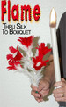 Flame Through Silk to Feather Bouquet Magic Trick