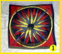 "36"" Medallion Pod Silk #1"