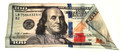New Style Hundred Dollar Bill Silk - 18 Inches