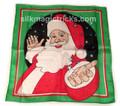 "18"" Santa Design Silk"