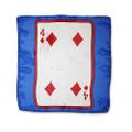 12 Inch Card Silk by Alberto Sitta Magic - 4 of Diamonds