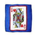 12 Inch Card Silk by Alberto Sitta Magic - Queen of Hearts