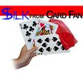 Silk from Card Fan with Silk