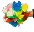 Plastic Spring Flowers - Jumbo 20