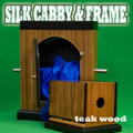 Silk Cabby & Frame Combo- Teak Wood