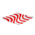 Red and White Diamond Silk by JL Magic