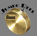 Jumbo Brass Reel Magic Trick Device