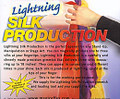 Lightning Silk Production Magic Trick Device
