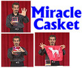 Tora Magic Miracle Casket with DVD - Magic Trick Device