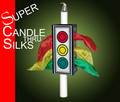 SUPER Candle Through Silks with Silks - New Version