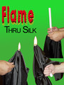 Flame through Silk Magic Trick