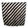 "15"" Black and White Zebra Silk by Uday Magic"