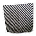 "36"" Black and White Zebra Silk by Uday Magic"