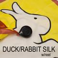 Duck Rabbit Silk with Reel - Silk Magic Trick