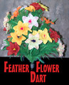 Feather Flower Bouquet Master with Darted End