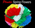 Jumbo Plastic Spring Flowers for Magic Tricks