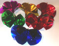 Set of 6 Large Metallic Spring Flowers by DiFatta Magic